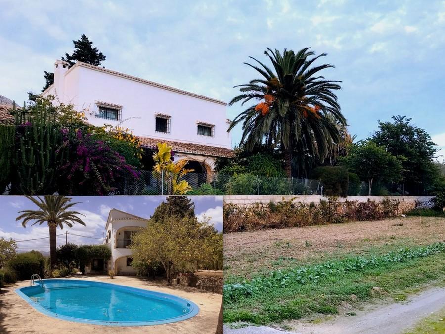 Ref:CH-1307-MI* Villa For Sale in Javea